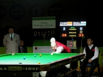 2009 IBSF World Mens Snooker Championship (India) 3rd/4th Place - Phil Wiliams vs Yu Delu