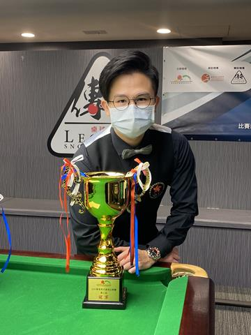 冠軍 Champion: 周漢文 Steven Chau