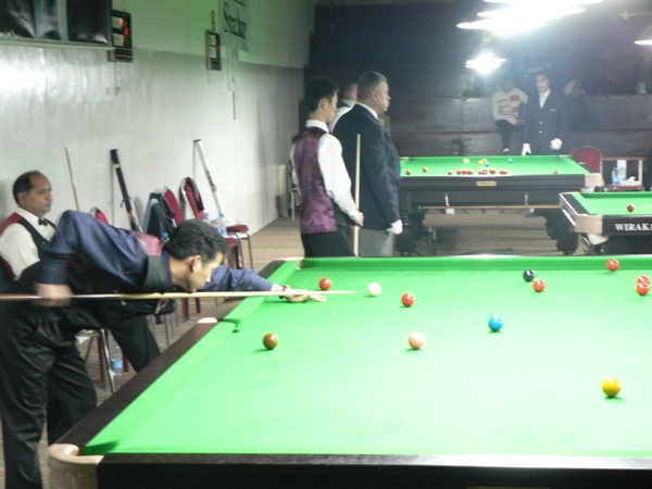 吳任水 Ng Yam Shui vs Mohammad Yousuf at the 2006 IBSF World Master Championship-Jordan.