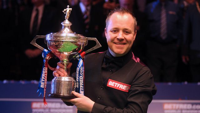 2011 World Snooker Championship Champion : JOHN HIGGINS