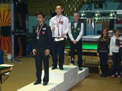 IBSF Mens Snooker Championship: Champion: Dechawat Poomjaeng (THA)