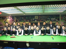 本球會開幕賽球手 2006 World Snooker Club 147 Opening Ceremony Match.