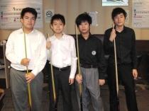 2009香港16歲以下青少年桌球錦標賽-4強