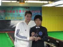 2010 國際青少年桌球邀請賽季軍