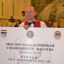 2010 IBSF World Master Snooker Championship (Syria) - Champion