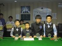 011香港14歲以下青少年桌球錦標賽30 July 4強SF & 決賽 Finals  HK U14 Snooker Championship