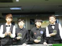 2011香港16歲以下4強-決賽 SF-FINALS HK U16 Snooker Championship, 7 August, 2011