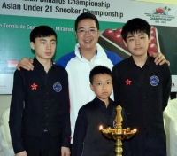 2012 亞洲U21賽 Asian U21 Snooker Championship - Goa India