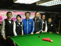 2012  香港女子英式桌球公開賽 HK Women Snooker Championship 2012 15-22 Sept