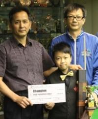 2012 香港14歲以下青少年桌球錦標賽 (第二站)  HK U14 Snooker Championship E2