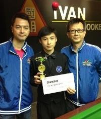2012 香港U18桌球錦標賽 (第三站)冠軍:萬明華  HK U18 Snooker Championship E3 2012