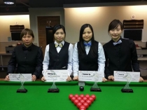 2013 香港女子英式桌球精英選拔賽 - 季軍  HK Women New Talent Snooker Championship 2013 - 2nd Runner Up
