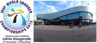 2013 IBSF Snooker Championship - LATVIA (27 Nov - 8 Dec 2013)