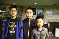 2014 香港21歲以下青少年英式桌球公開賽 (第一站) 8強 2014 HK U21 Snooker Championship (E1) QF - 1/3/2014