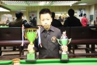 2014 香港21歲以下青少年英式桌球公開賽 (第一站) 頒獎, 4強-決賽 2014 HK U21 Snooker Championship (E1) Presentation, SF-Finals 2/3/2014