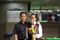 2014 香港女子英式桌球公開賽冠軍: 吳安儀 Ng On Yee Champion of Hong Kong Women Snooker Open Championship 2014
