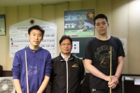 2015香港21歲以下青少年英式桌球公開賽 (第一站)  25-1-2015