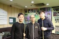 2015香港21歲以下青少年英式桌球公開賽 (第一站) 31-1-2015