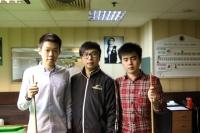 2015香港21歲以下青少年英式桌球公開賽 (第一站) 01-2-2015