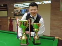 2015 香港英式桌球公開賽 (第一站) 冠軍:連騰浩 Alan Lin Champion of HK Snooker Open (E1) 2015