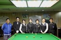 2015香港女子英式桌球公開賽 HK Women Snooker Open 2015 (SF4強賽11th July)