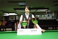 2015香港女子英式桌球公開賽 HK Women Snooker Open 2015 (決賽 Finals 12th July)