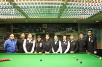 2015香港女子英式桌球公開賽 HK Women Snooker Open 2015 (10th July 8強 Last 8)