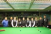 2015香港女子英式桌球公開賽 HK Women Snooker Open 2015 (10th July 8強 Last 8)