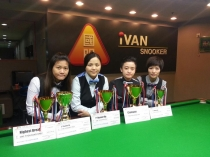 2014 HK Women New Talent Snooker Championship 亞軍 2nd Place