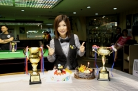 2015香港女子英式桌球精英選拔賽冠軍: 鍾群 Grace Chung Champion of HK Women New Talent Snooker Championship 2015