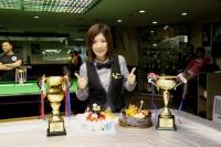 2015香港女子英式桌球精英選拔賽冠軍: 鍾群 Grace Chung Champion of HK Women New Talent Snooker Championship 2015