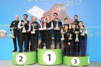 2017 IBSF World Mens, Womens, Masters Snooker Championship - Doha Qatar 27 Nov Prize Presentation