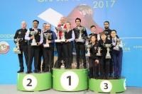 2017 IBSF World Mens, Womens, Masters Snooker Championship - Doha Qatar 27 Nov Prize Presentation