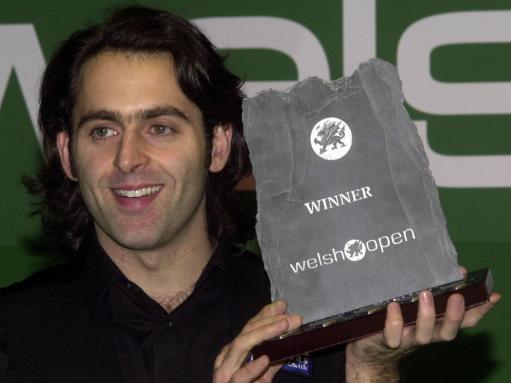 2004 Welsh Open Champion: Ronnie O'Sullivan 9:8 Steve Davis