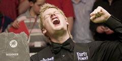 2007 Welsh Open Champion: Neil Robertson 9:8 Andrew Higginson
