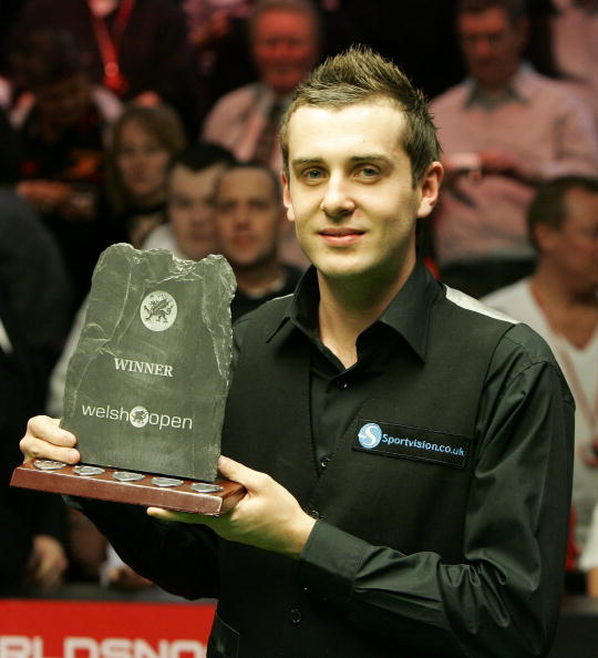 2008 Welsh Open Champion: Mark Selby 9:8 Ronnie O'Sullivan