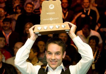 2009 Welsh Open Champion: Ali Carter 9:5 Joe Swail