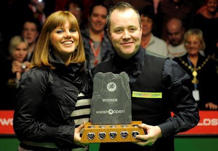 2010 Welsh Open Champion : John Higgins 9:4 Ali Carter