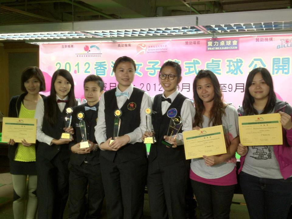 Left to right : Grace Chung Kwan, 4th Place: Jaique Ip Wan In, Champion: Ching Ching Yu, 1st runner up: Carlie So Man Yan, 2nd Runer Up: Ng On Yee, .. and Mini Chu