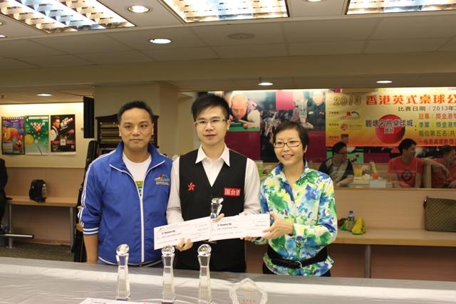 殿軍 3rd Runner Up : 周漢文 Steven Chau