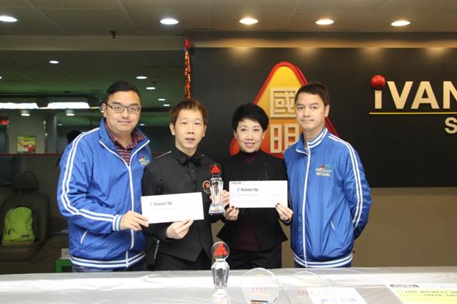 亞軍 1st Runner Up : 陳嘉健 Chan Ka Kin