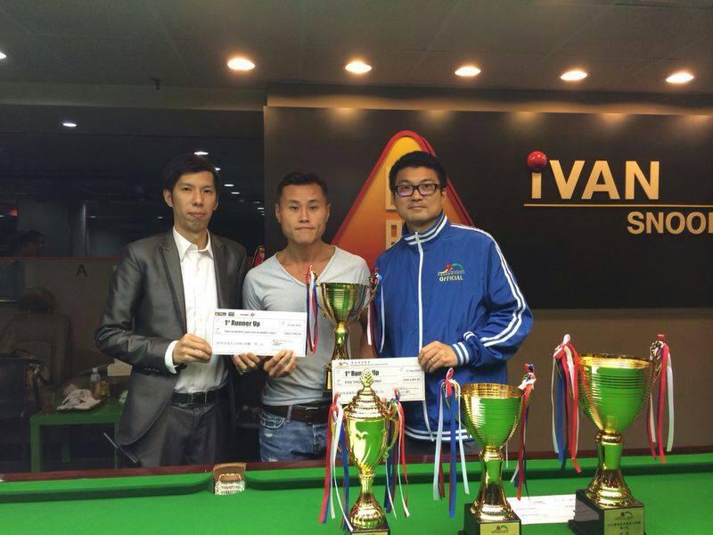 亞軍 1st Runner Up : 李俊威 Andy Lee