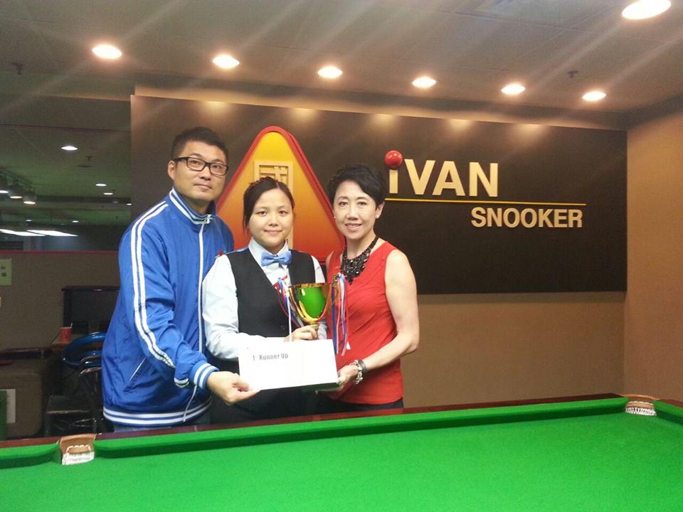 亞軍 1st Runner Up : 朱佩瑩 Mini Chu