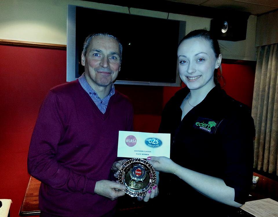 Hannah Jones Plate Champion
