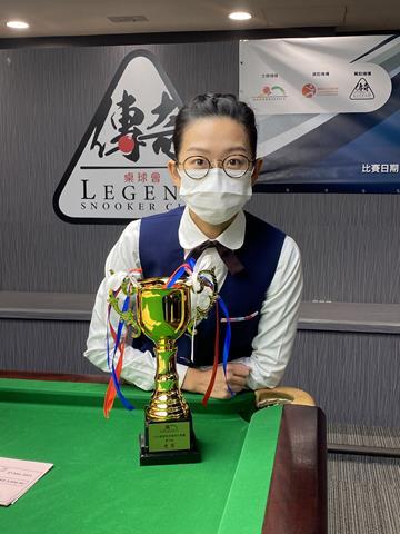 季軍 3rd Place: 吳安儀 Ng On Yee