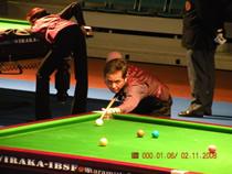吳任水 Ng Yam Shui at 2008 IBSF World Masters Championship - Austria.