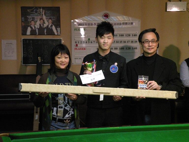 Felicia Carpio-WSC147, 冠軍 Champion: 李士民 Simon Lee, Ken Sir - Tournament Director