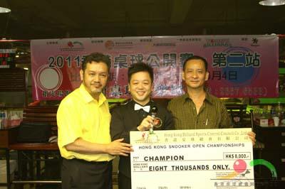 冠軍 CHAMPION : 馮國威 FUNG KWOK WAI