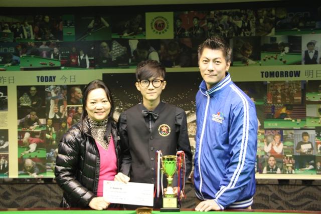 殿軍 3rd Runner Up: 馮俊軒 Jonathan Fung