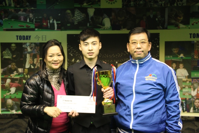 季軍 2nd Runner Up: 萬明華 Felix Man